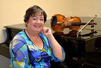 Angela Cavadas ~ violin