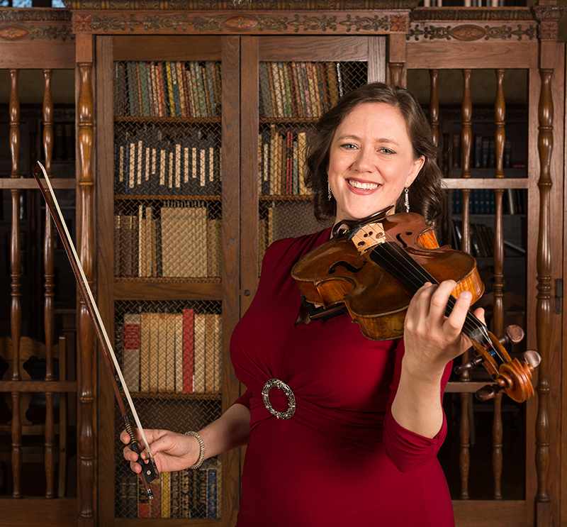 Tawnya Popoff ~ violist